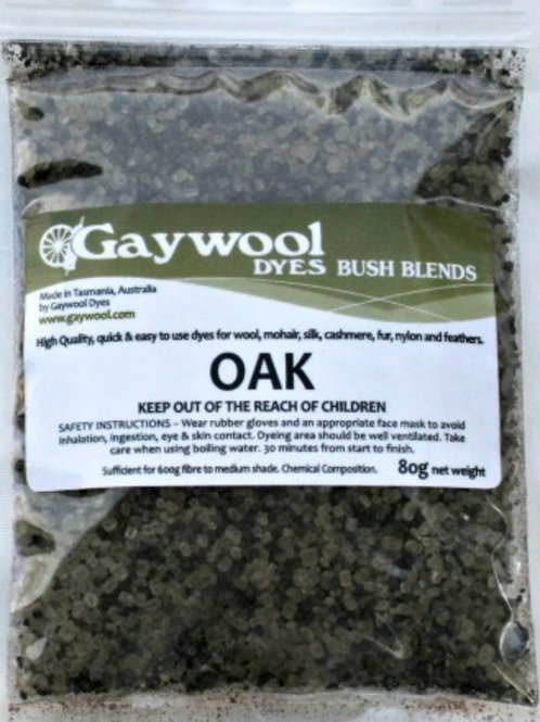 Gaywool Bush Blends - Oak 80 grams