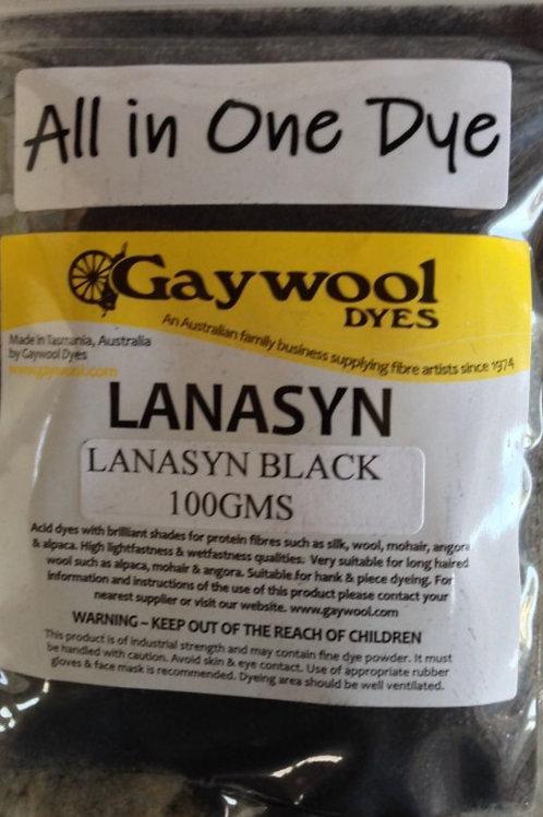 Gaywool Lanasyn Black 100 g