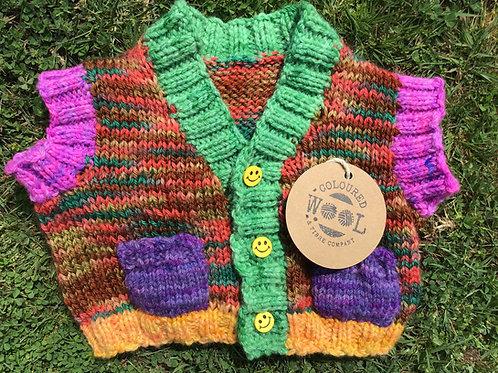 Medium rainbow vest