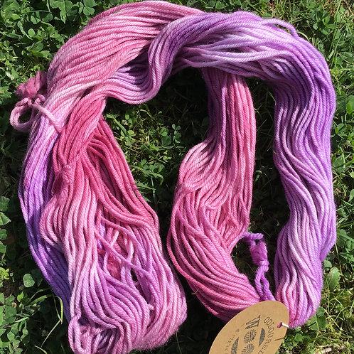 Pink pastel 8 ply Merino yarn 100 g