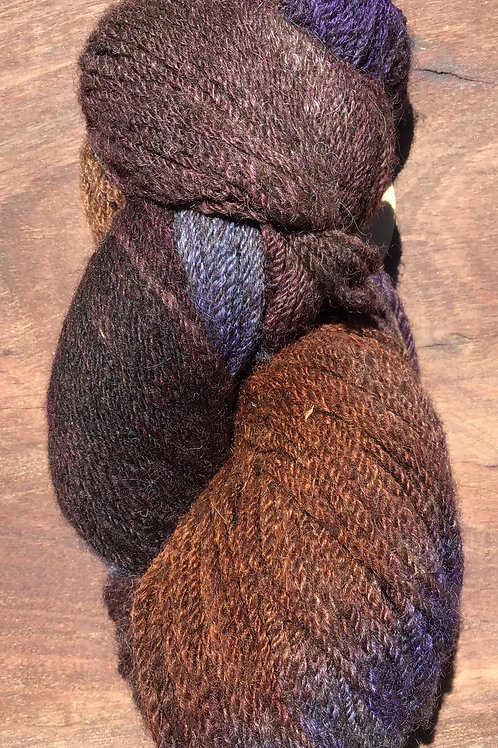 Steam dyed Circus collection 10 ply yarn 100 grams