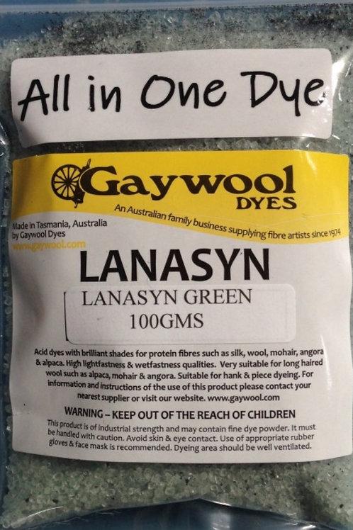 Gaywool Lanasyn Green dye 100 g