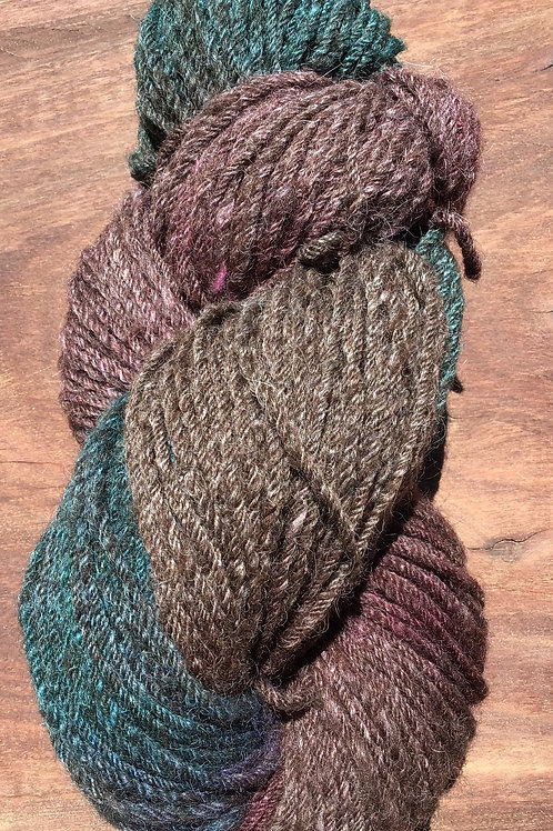 Circus collection steam dyed 10 ply yarn