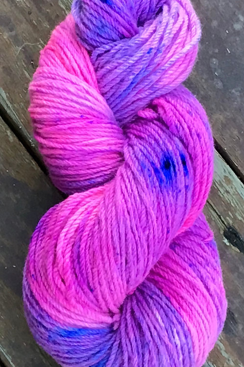 Pinktastic Polwarth pure Australian wool 8 ply 100grams approx 200m