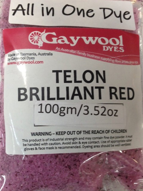 Gaywool Teflon red All in 1 dye 100 g