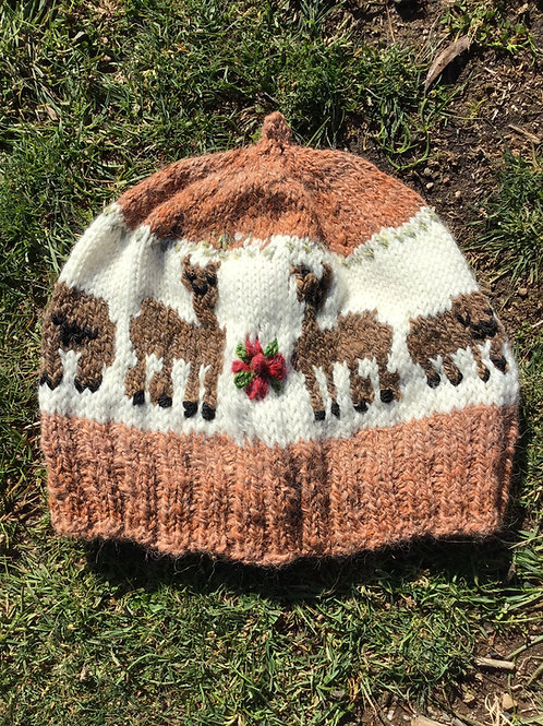 Sheep beanie adult