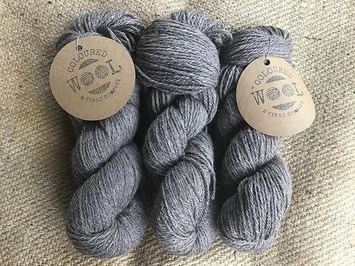 Naturally coloured Merino/ Corriedale 8 ply 100 g