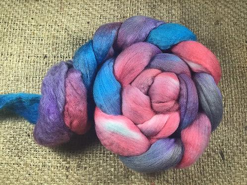 #343 steam dyed merino roving 100 g