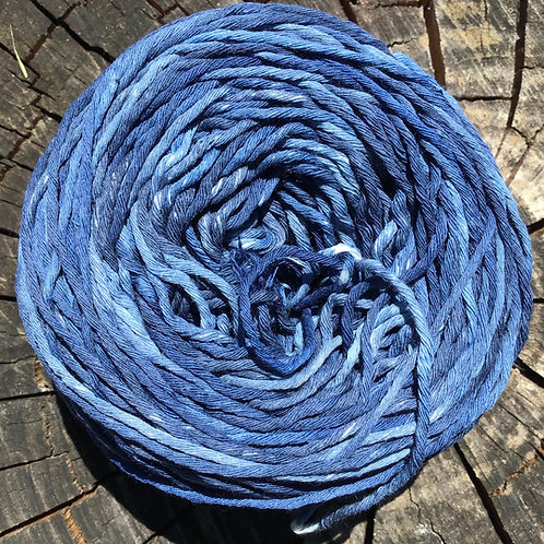 Indigo 8 ply cotton 50 grams