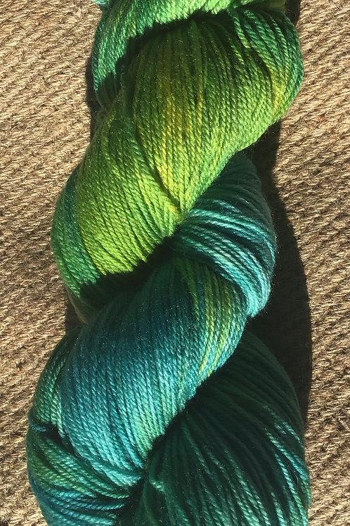 Kermits punch sock yarn 4 ply