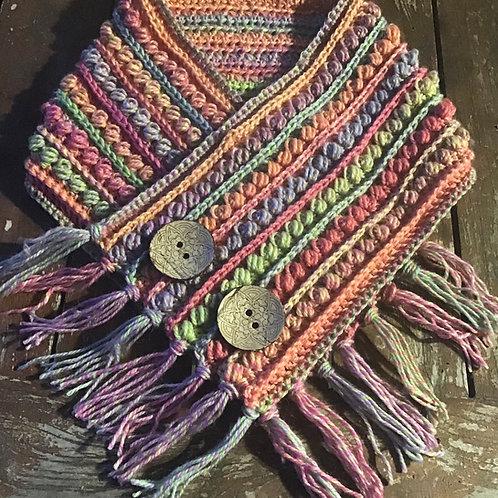 Pastel pure wool neck hig