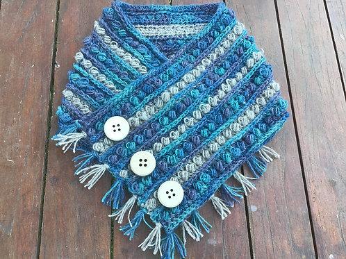 Merino / Suri alpaca hand crocheted hug