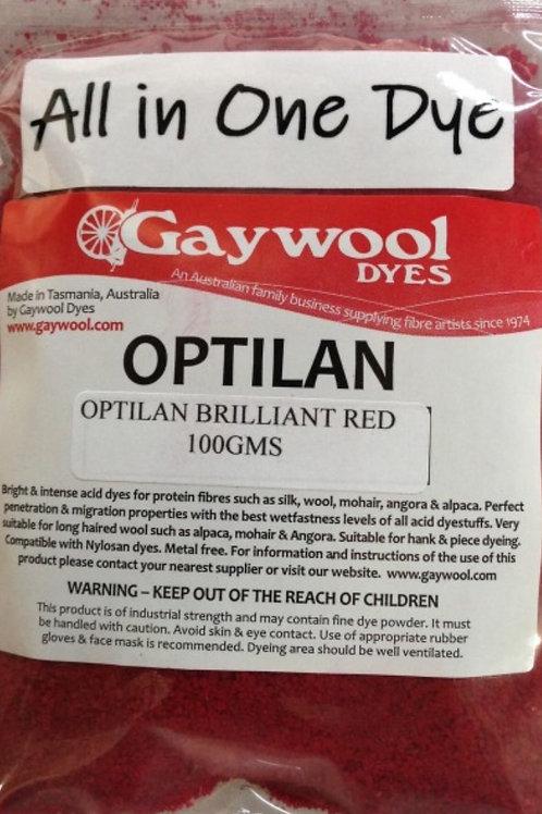 Gaywool Optilan Brilliant Red 100 g
