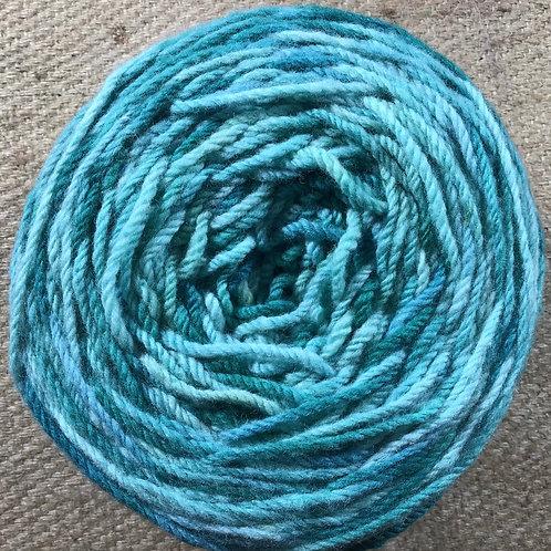 Aussie Bush 8 ply Polwarth yarn 200 g