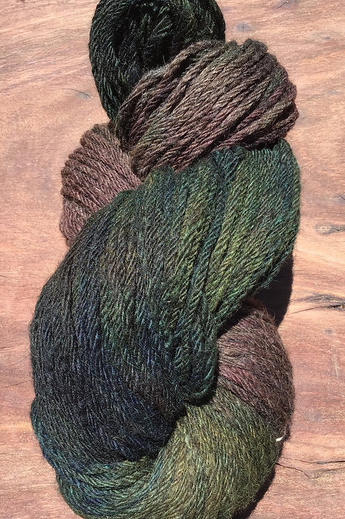 Steam dyed Rainforest Collection 10 ply 100 grams