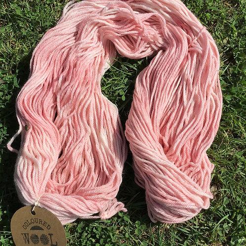 Baby pink merino 8 ply 100 g