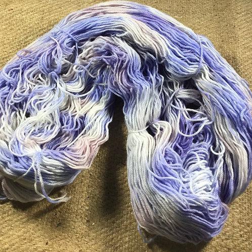 The pastel leopard sock yarn 4 ply