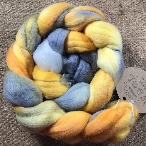 #213 steam dyed merino 100 g