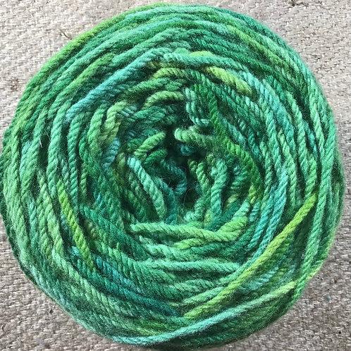 Kermits dream 8 ply Polwarth yarn 200 g
