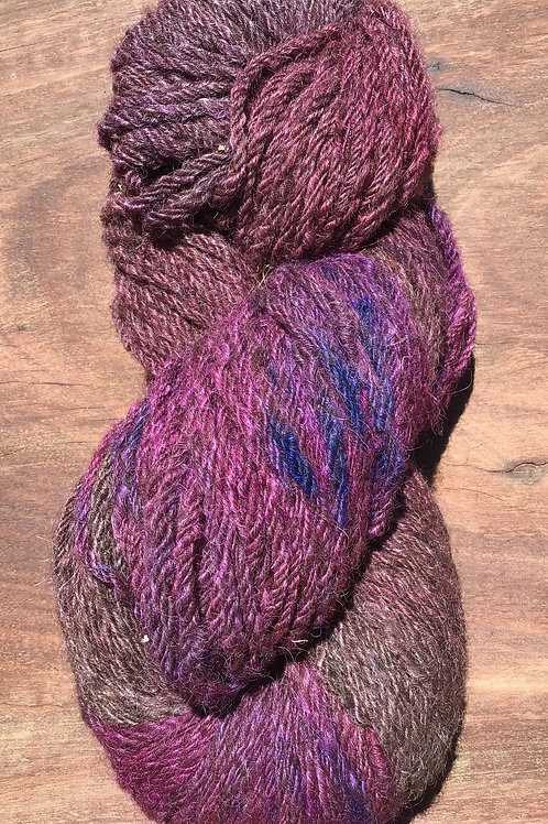 Steam dyed Shades of Purple Collection 10 ply