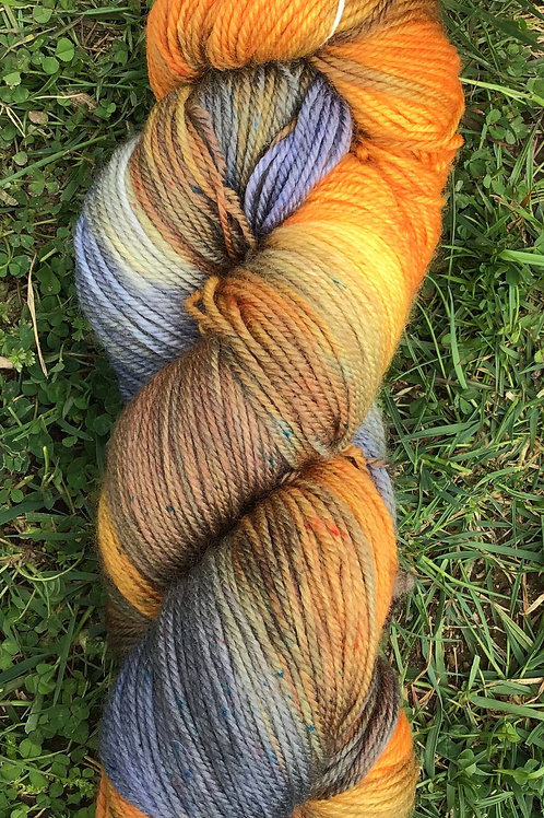 Bird of paradise 12 ply Merino yarn