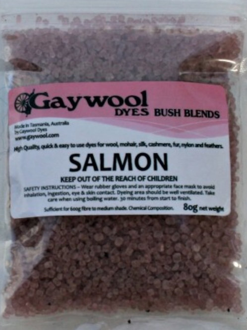 Gaywool Bush Blemds - Salmon 80 grams