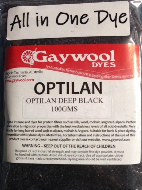 Gaywool Optilan Deep Black 100 g