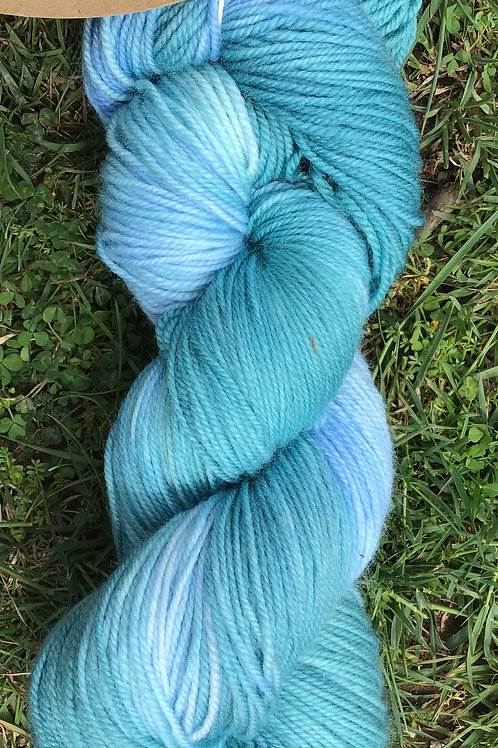 Winter stream 4 ply Merino blend sock yarn 100 g