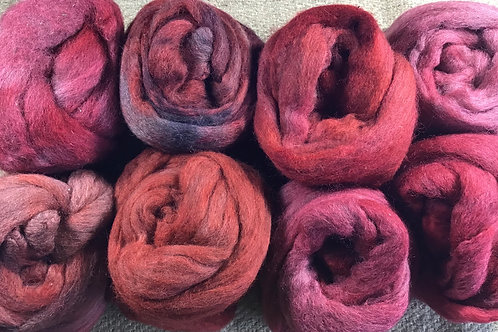 #6 Red flame roving blend 400 g