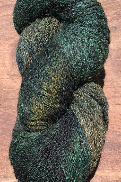 Steam dyed Rainforest collection 10 ply