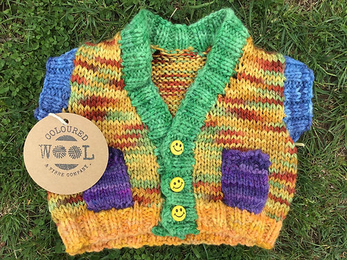 Rainbow small children's vest