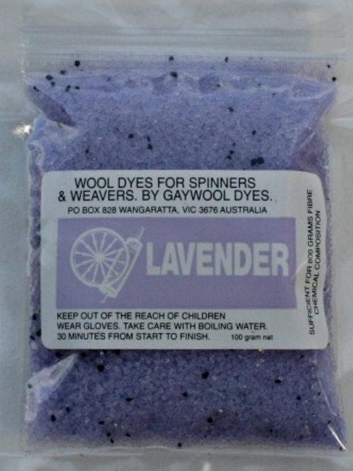 Gaywool Original Dyes - Lavender 100 g