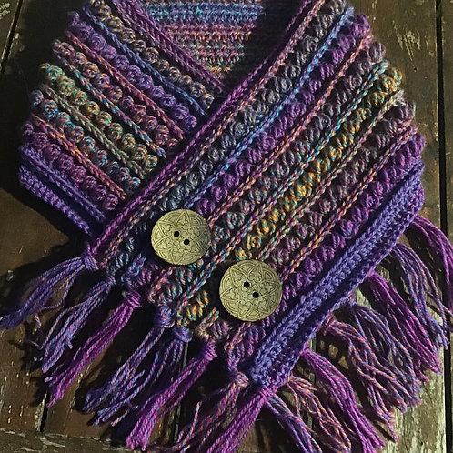 Winter garden pure wool neck hug