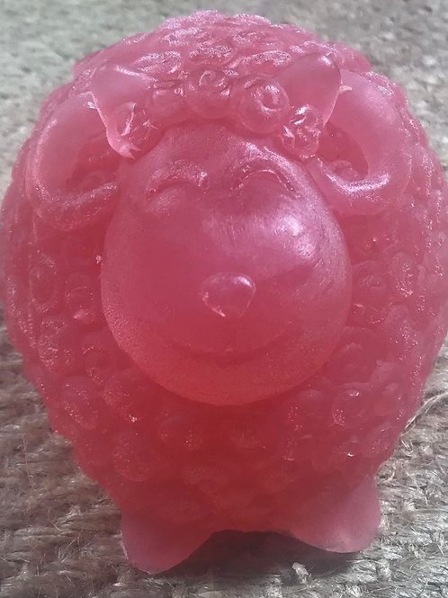 Raspberry Glycerin sheep soap