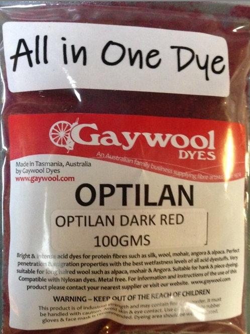 Gaywool Optilan Dark Red 100 g