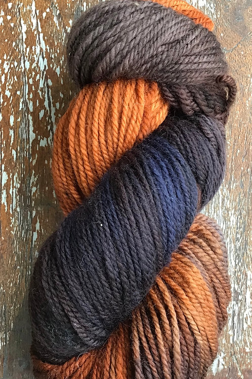 Autumn surprise 8 ply 100 g Pure Australian Wool