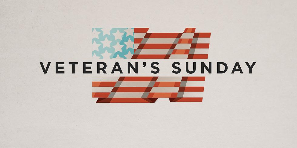 Veteran's Sunday