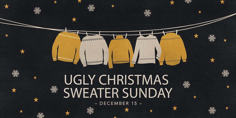 Ugly Christmas Sweater Sunday