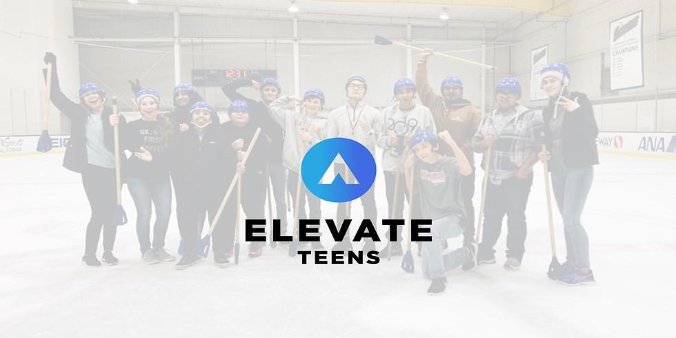 Elevate Teens Broomball