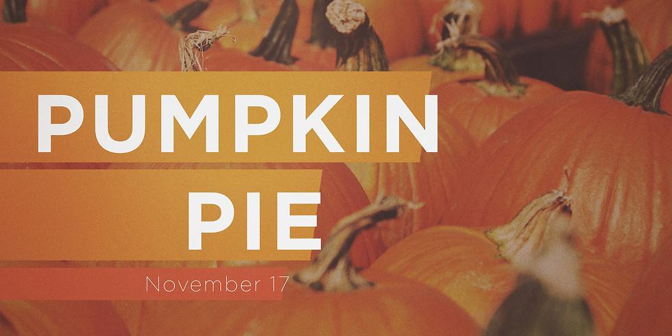 Pumpkin Pie Sunday