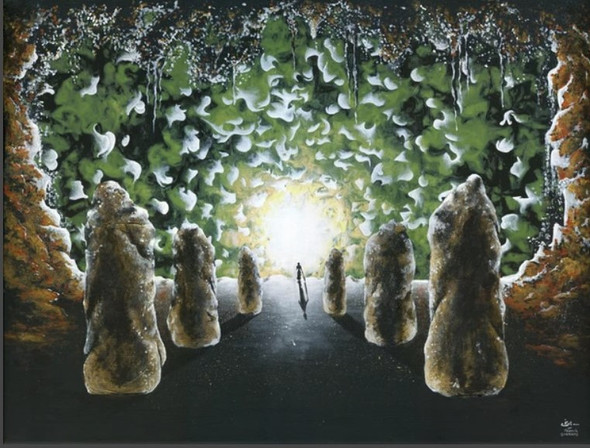 entre les ombres  | Acrylic
