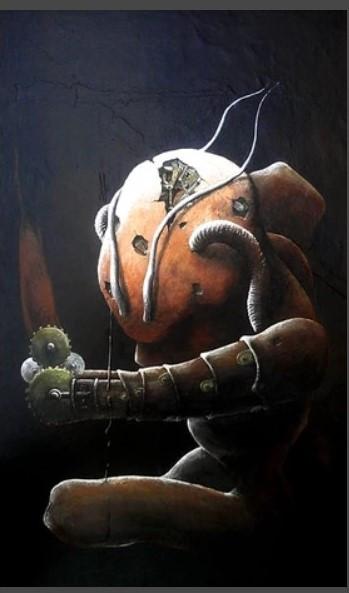 foetus d'alien | Acrylic