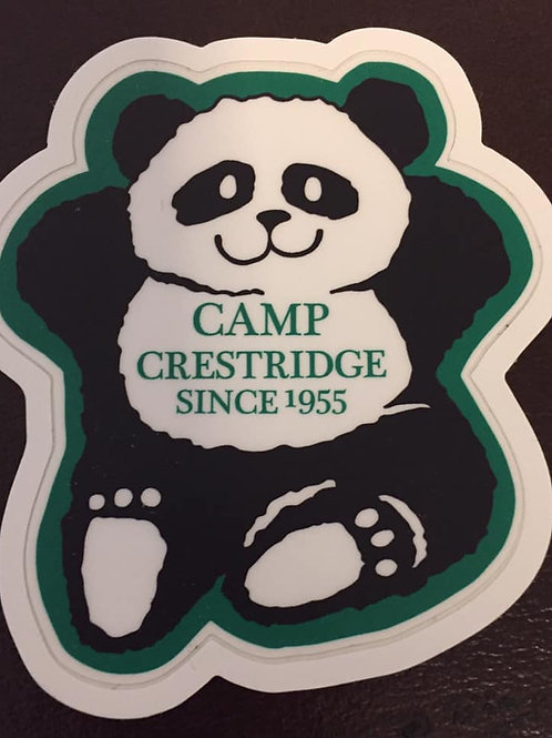 Retro Crestridge Bear Sticker