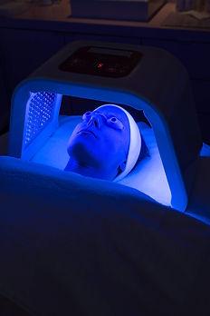Infrarot LED Laserlicht Therapie Hamburg blau