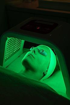 Infrarot LED Laserlicht Therapie Hamburg grün