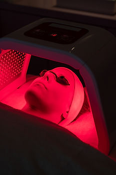 Infrarot LED Laserlicht Therapie Hamburg rot
