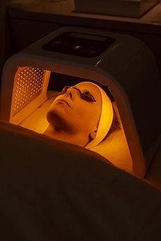 Infrarot LED Laserlicht Therapie Hamburg gelb