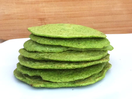 Savory Spinach                                   St. Patrick's Day Pancakes