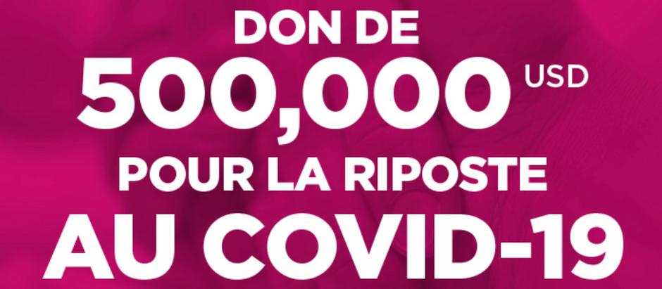 Jeunesse fait un don de 500 000$ pour lutter contre le COVID-19