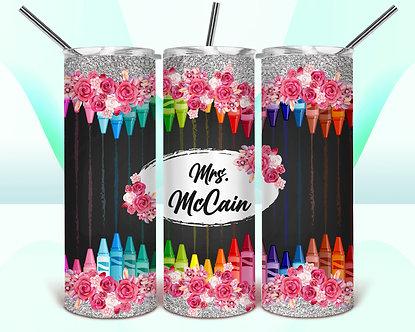 Floral Crayons